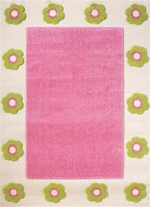 tapis enfant fleurs mina rose tapis enfant pour dcorer With tapis chambre bébé avec fleur de bach boutique