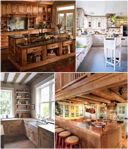 rustic country kitchen ideas 35 rustic and country kitchen design ideas