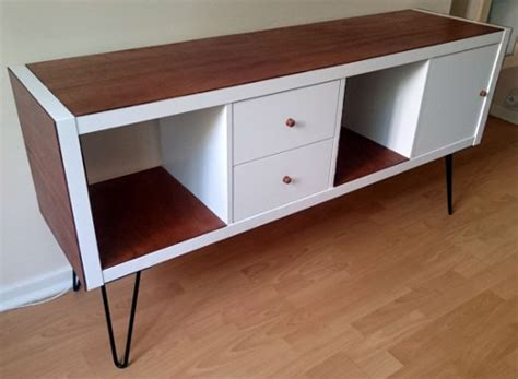 Ikea Desk Legs Australia by Ikea Hack D 233 Tourner Et Customiser Une 233 Tag 232 Re Kallax