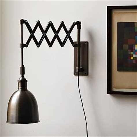 accordion sconce from west elm potential light for new bedroom if my heart was a house this