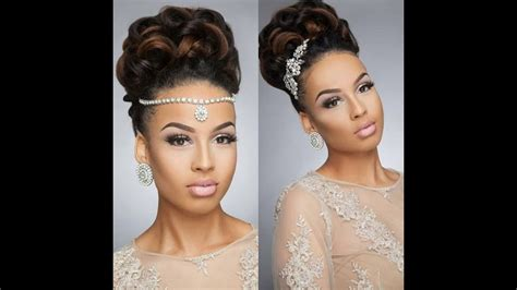 25 Beautiful Wedding Hairstyles For Black Women To Feel