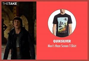 Skyler Gisondo Quiksilver Men's Haze Screen T-Shirt from ...