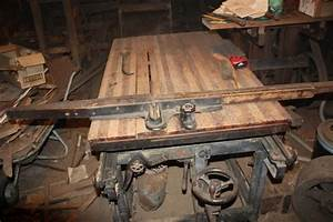 Untitled antique woodworking machines
