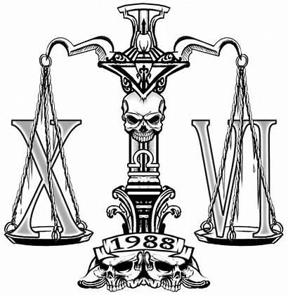 Tattoo Scale Libra Justice Designs Stencil Scales