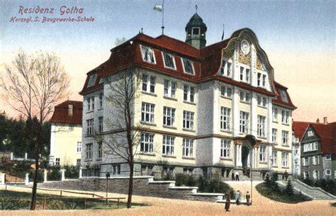 historie fachschule gotha