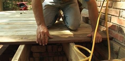 How to Build a Wood Deck on Your Home   Today's Homeowner
