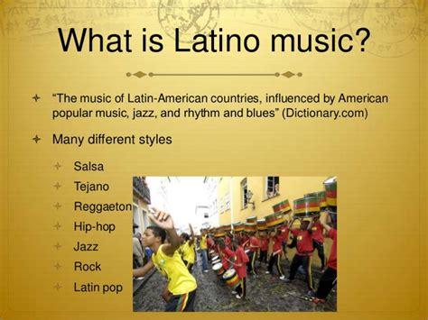 Globalization Of Latino Music