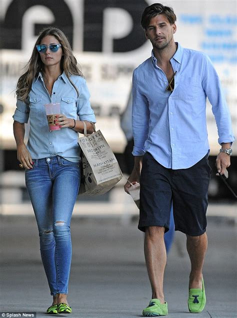 Olivia Palermo and Johannes Huebl prove theyu0026#39;re the perfect couple as they step out in matching ...