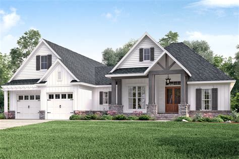 farmhouse style homes contemporary prairie style home craftsman style house plan 3 beds 2 00 baths 2073 sq ft