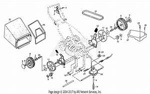 Poulan P2260a Mower Parts Diagram For Drive Assembly
