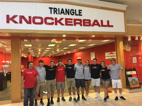 Kitchen Store Cary Towne Center by Cary Towne Mall Knockerball Triangle