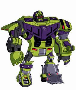 Transformers Animated DEVASTATOR (yes, it's done ...