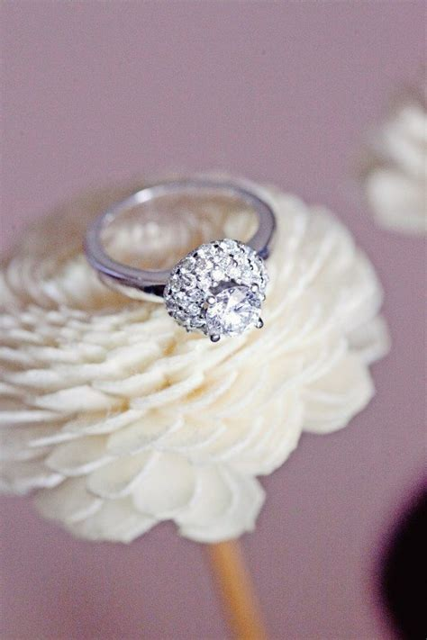 gorgeous real wedding engagement rings weddingbells