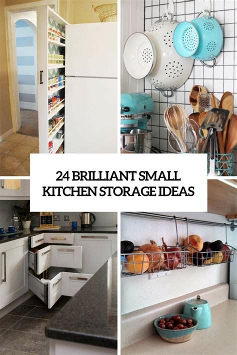 small kitchen cupboard storage ideas 24 creative small kitchen storage ideas shelterness