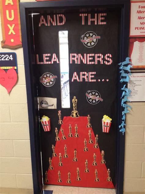 hollywood themed classroom door school pinterest