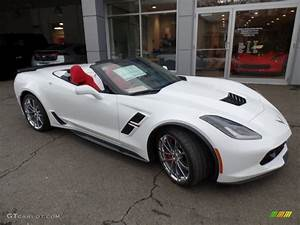 2017 Arctic White Chevrolet Corvette Grand Sport ...