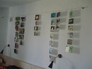 Wand Mit Fotos Dekorieren : wie kann ich meine fotos an der wand dekorieren seite 2 hallo ihr lieben ich hab mir ~ Markanthonyermac.com Haus und Dekorationen