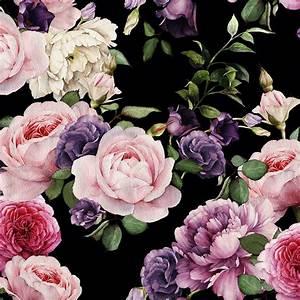 Vintage Floral Wallpaper - Dark – Project Nursery