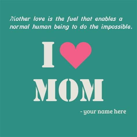 love mom images names editing