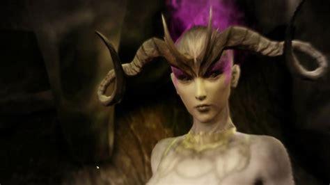 character creator maxine female qunari lady insanity