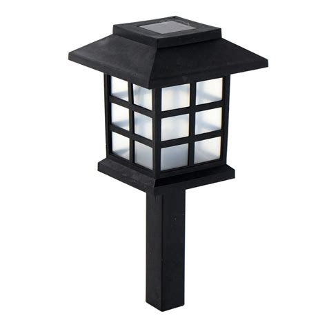 Solar Powered Carriage Lights Outdoor Garden Oriental Led