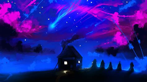 Magic Night (animation) By Ryky On Deviantart