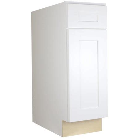 kitchen cabinets ready to assemble rta all wood cabinet mania white shaker b21 base cabinet 21 quot wide