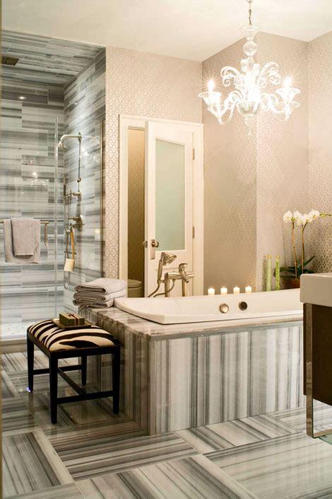 wallpaper bathroom designs 30 bathroom wallpaper ideas shelterness