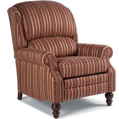 Smith Brothers Recliners by Smith Brothers 705 Pressback Reclining Chair With Rolled