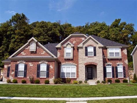 exterior paint ideas for homes with brick