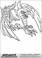 Alifiah Skylanders sketch template