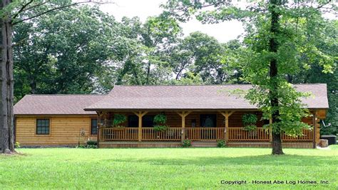 Ranch Style Log Home Floor Plans by Ranch Style Log Home Ranch Floor Plans Log Homes Log