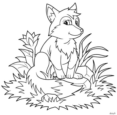 ustensiles de cuisine en c dessin gratuit à imprimer un renard dory fr coloriages