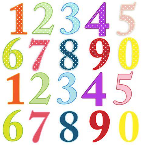 numeri clipart numeri colorati clip immagine gratis domain