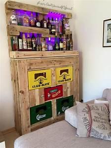 Alkohol Bar Für Zuhause : trinken mit stil 13 geschmackvolle diy ideen f r eine mini bar zu hause diy bastelideen ~ Markanthonyermac.com Haus und Dekorationen