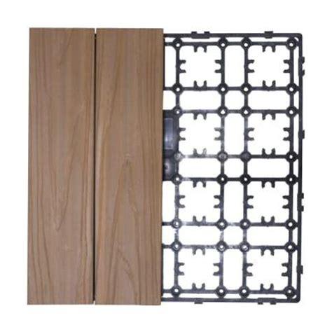 Prefab Deck Kits Home Depot by Newtechwood Deck A Floor Premium Modular Outdoor Composite