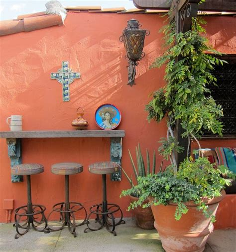 mexican style patio design westwood eclectic patio spanish style pinterest