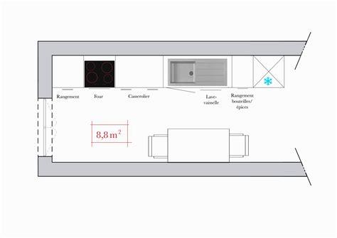 les 5m en cuisine conseils d 39 architecte 4 plans de cuisine en i