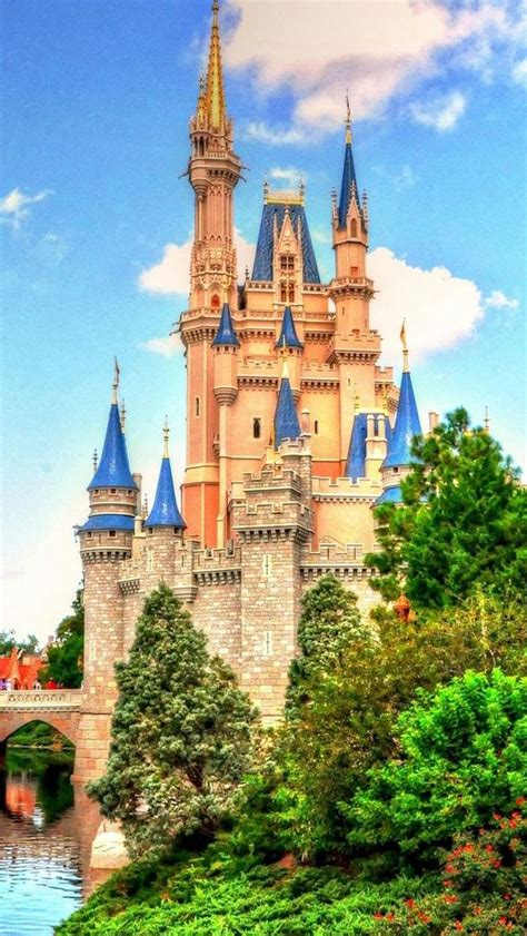 Background Disney World Iphone Wallpaper by Disney Castle Iphone Wallpaper Wallpapersafari