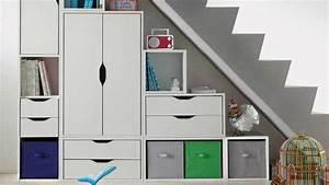 Meuble Escalier Ikea : rangement placard sous escalier ikea ~ Melissatoandfro.com Idées de Décoration