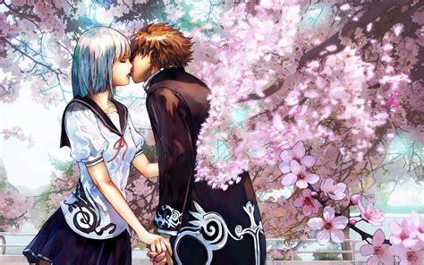 anime good anime romance kiss bergerak