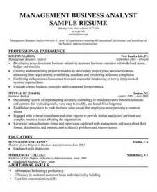 database management analyst resume sle resume program analyst augustais