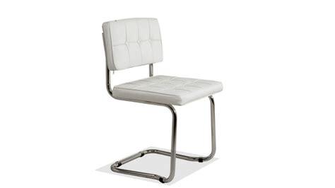 bureau design moderne chaises mobilier cuir
