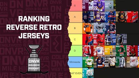 DNVR Avalanche Podcast: Ranking The NHL Reverse Retro Jerseys