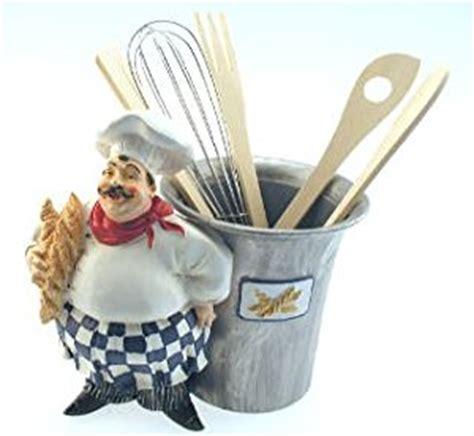amazon com fat french italian chef utensil holder