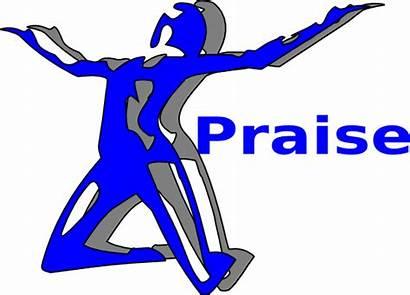Praise Clip Worship Clipart Dance God Praising