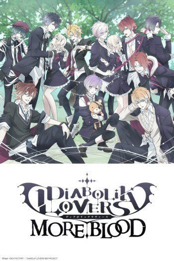 diabolik lovers  blood anime planet