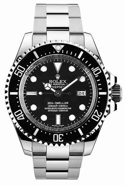 Rolex Transparent Submariner Watches Clipart Cartoon Clip
