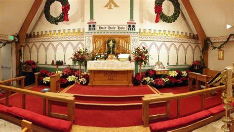 christmas decorations saint stephens anglican church