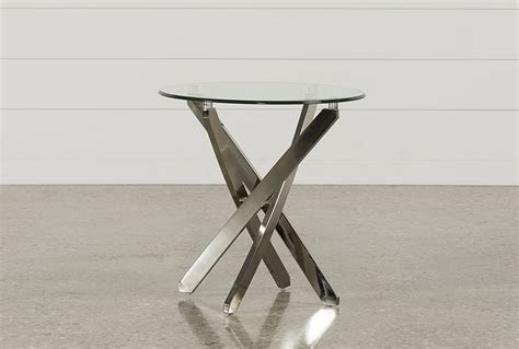 living spaces end tables torrin round end table living spaces
